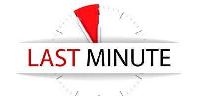 Last minute serale